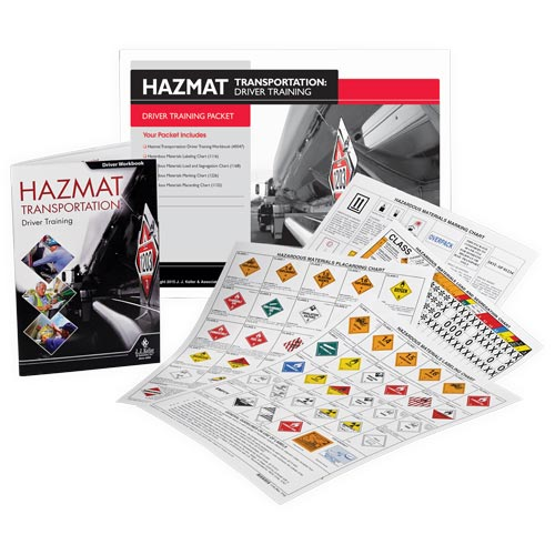 Hazmat Transportation: Driver Training - Driver Training Packet (08874)