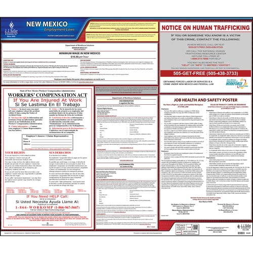 New Mexico & Federal Labor Law Posters (03995)