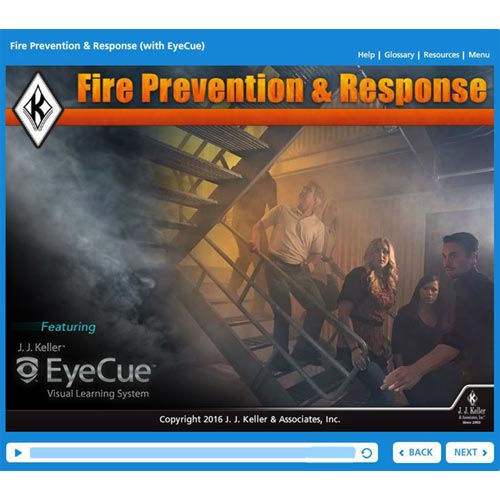 Fire Prevention & Response: What Employees Need to Know - Online Training Course (09030)