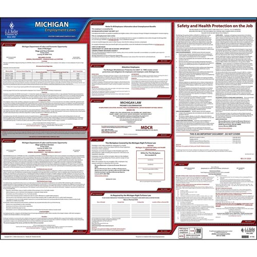 Michigan & Federal Labor Law Posters (03957)