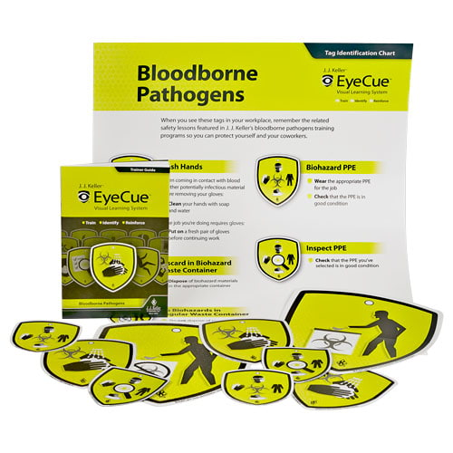 Bloodborne Pathogens Training - EyeCue® Starter Pack (09067)