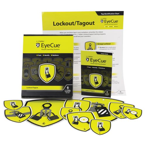 Lockout / Tagout Training - EyeCue® Starter Pack (09240)