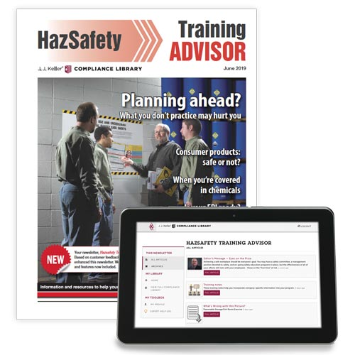 HazSafety Training Advisor Newsletter (00515)