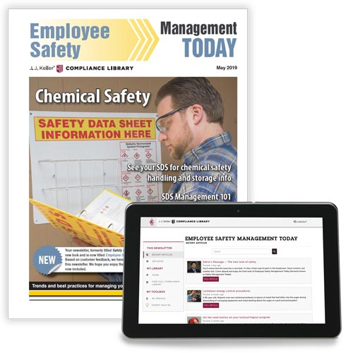 Employee Safety Management Today Newsletter (02794)