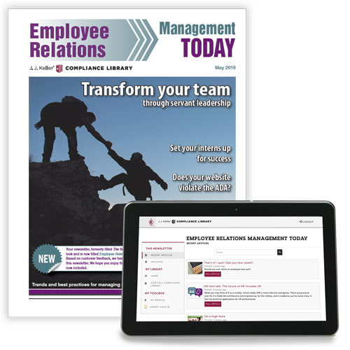 Employee Relations Management Today Newsletter (00165)