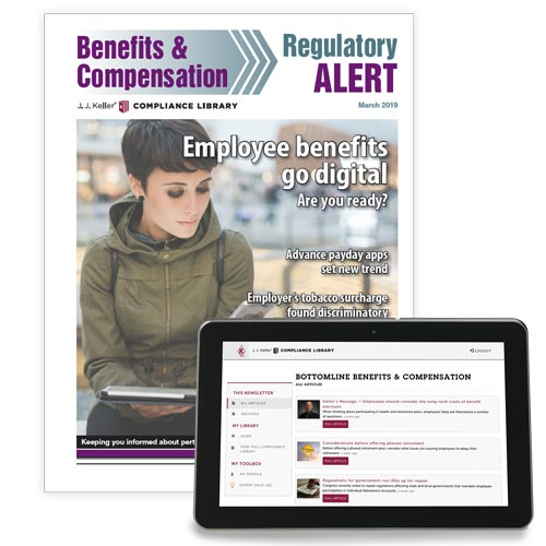 Benefits & Compensation Regulatory Alert Newsletter (00070)