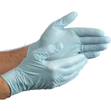 SHOWA™ N-DEX Powdered Nitrile Industrial Gloves - 4 mil (06541)