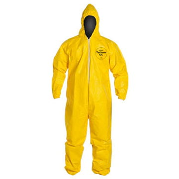 DuPont™ Tychem® QC Disposable Clothing Coveralls (011117)