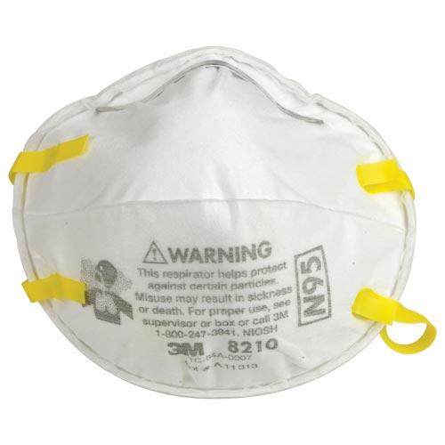 3M™ Particulate Respirator 8210, N95 (06386)