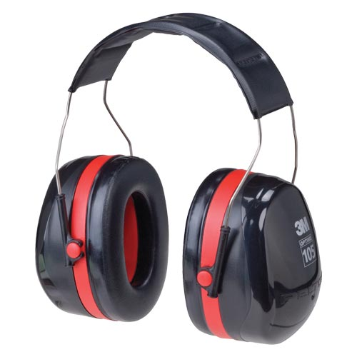 3M™ OPTIME™ 105 Headband Earmuffs (06617)