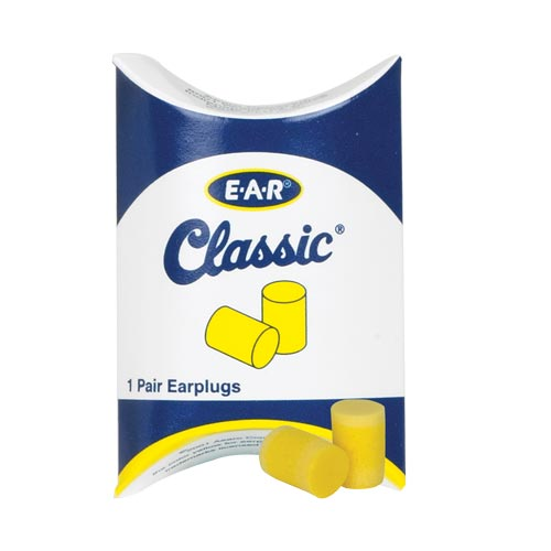 3M™ E-A-R™ Classic™ Disposable Earplugs (Uncorded), NRR29 (04722)