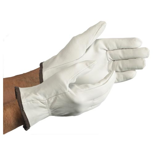 MCR Safety Premium Grain Goatskin Driver Gloves (06567)