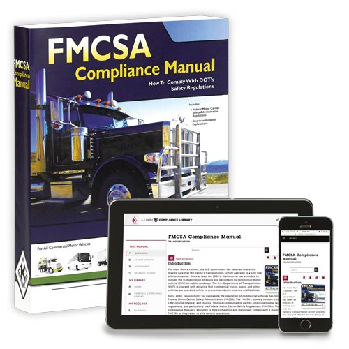 FMCSA Compliance Manual – Softbound Version + Online Edition w/ 1-Year Update Service (07384)