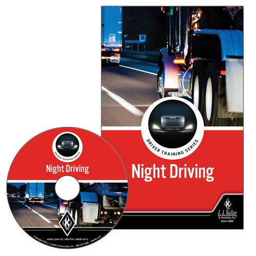 Night Driving: Driver Training Series - DVD Training (09256)