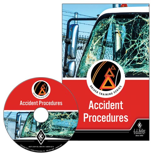 Accident Procedures: Driver Training Series - DVD Training (09258)