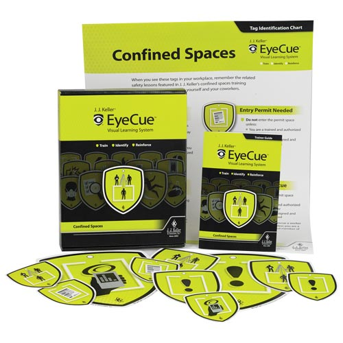Confined Spaces Training - EyeCue® Starter Pack (09377)
