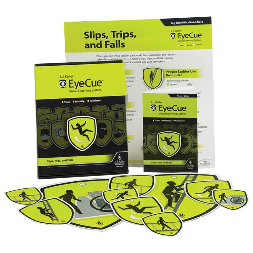 Slips, Trips & Falls Training - EyeCue® Starter Pack (09236)