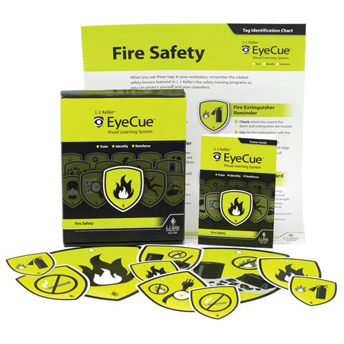 Fire Safety Training - EyeCue® Starter Pack (09239)