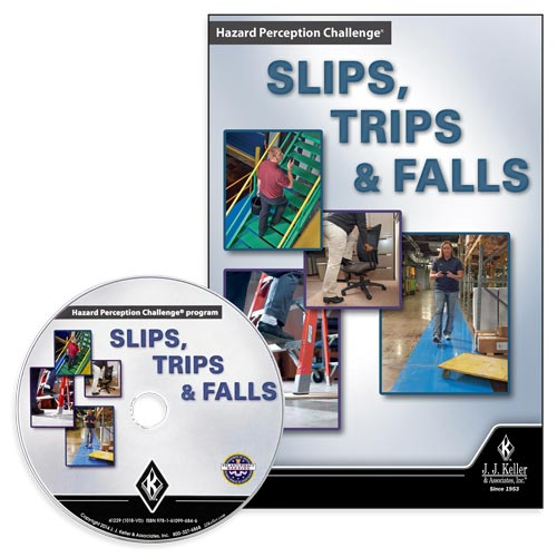 Slips, Trips & Falls: Hazard Perception Challenge - DVD Training (09013)