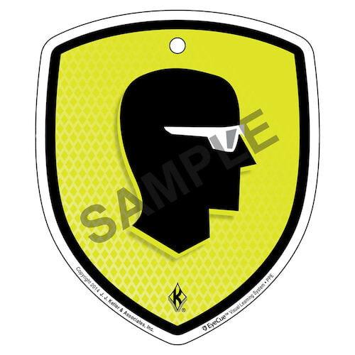 EyeCue® Tags - PPE Eye Protection Reminder (09050)