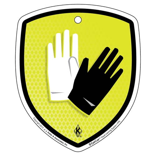 EyeCue® Tags - PPE Hand Protection Reminder (09052)