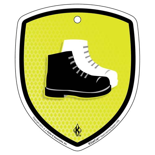 EyeCue® Tags - PPE Foot Protection Reminder (09053)