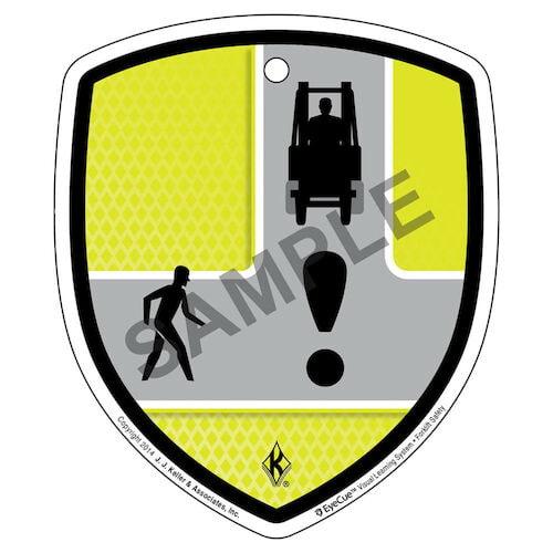EyeCue® Tags - Forklift Intersection Hazard Reminder (09060)
