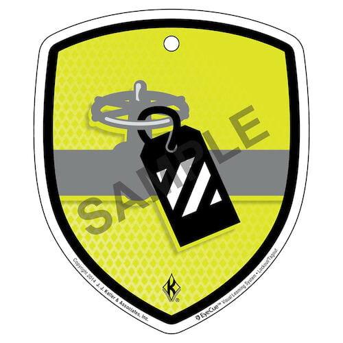 EyeCue™ Tags - Lockout / Tagout Tag Reminder (09213)