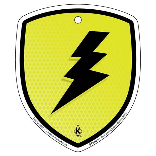 EyeCue® Tags - Electrical Safety Electric Shock Hazard Reminder (09263)
