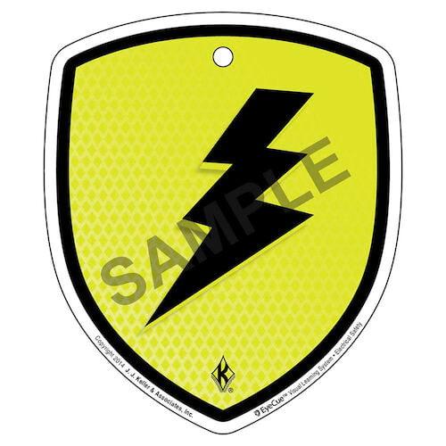 EyeCue® Tags - Electrical Safety Electric Shock Hazard Reminder (09263)