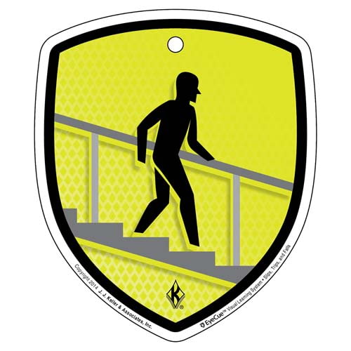 EyeCue® Tags - Slips, Trips & Falls Handrail Reminder (09335)
