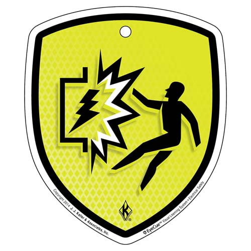 EyeCue® Tags - Electrical Safety Arc Flash/Blast Hazard Reminder (09264)