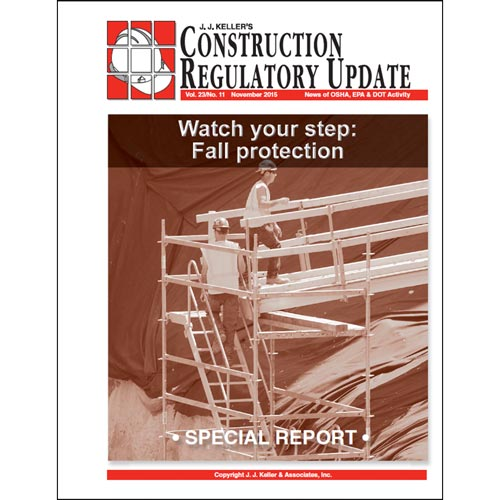 Special Report - Watch Your Step: Fall Protection (012843)