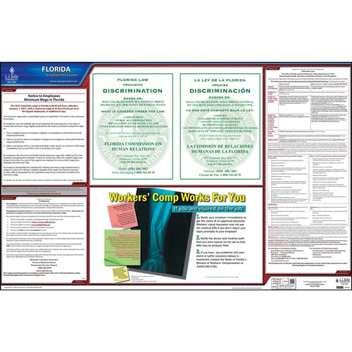 2020 Florida & Federal Labor Law Posters (03971)