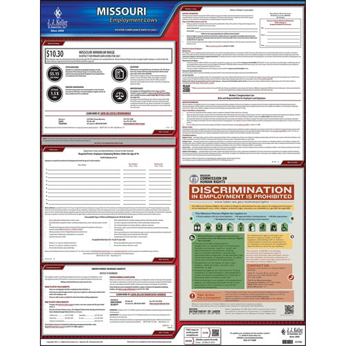 2019 Missouri & Federal Labor Law Posters (03992)