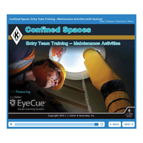 Confined Spaces: Entry Team Training - Maintenance Activities - Online Course (010392)