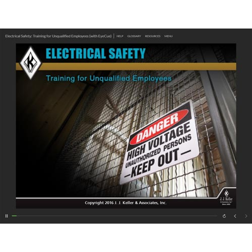 Electrical Safety: Training for Unqualified Employees - Online Course (09348)