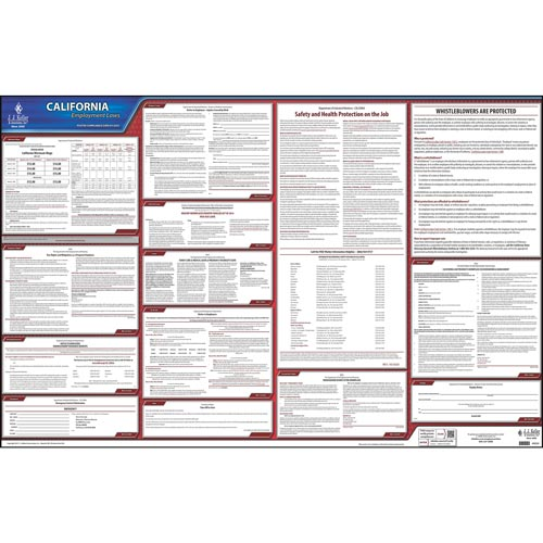 2019 California & Federal Labor Law Posters (03985)