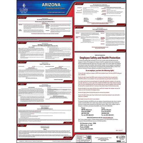 2019 Arizona & Federal Labor Law Posters (03969)