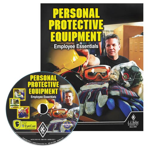 Personal Protective Equipment: Employee Essentials - DVD Training (09249)