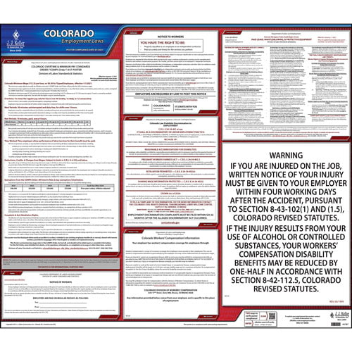 2020 Colorado & Federal Labor Law Posters (03951)