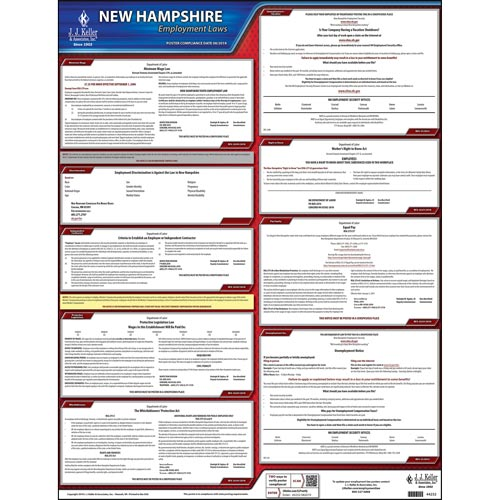 2019 New Hampshire & Federal Labor Law Posters (03994)