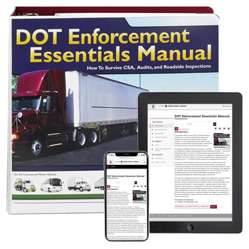 DOT Enforcement Essentials Manual (03678)