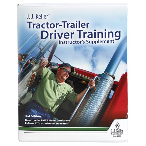 J. J. Keller® Tractor-Trailer Driver Training Instructor's Supplement - Online Access + Print (01075)