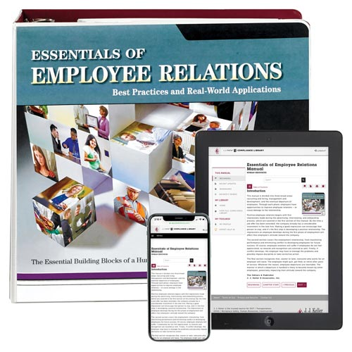 Essentials of Employee Relations Manual (06671)
