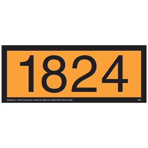 1824 Orange Panel (09497)