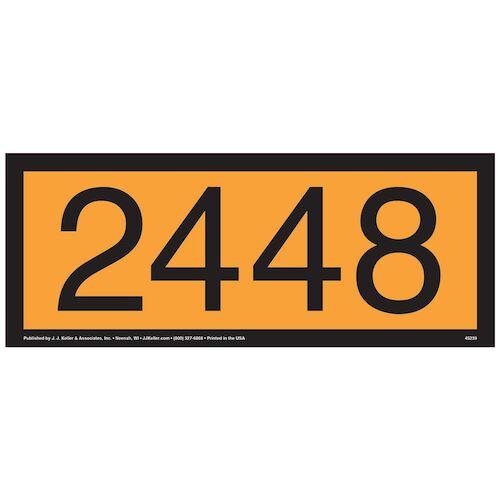 2448 Orange Panel (09499)