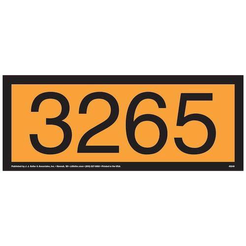 3265 Orange Panel (09502)