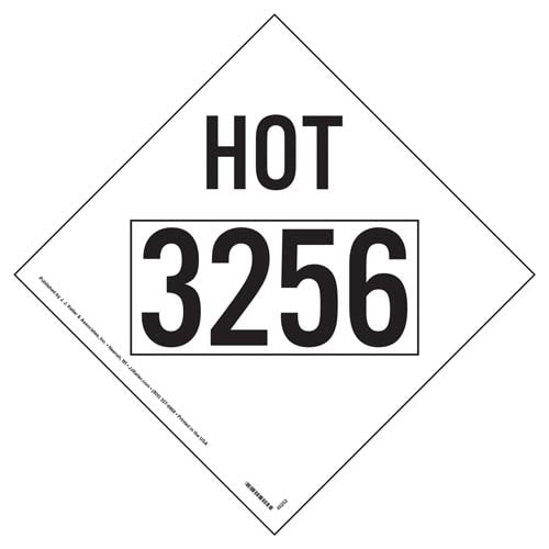 3256 Elevated Temperature Liquid HOT Marking (09504)