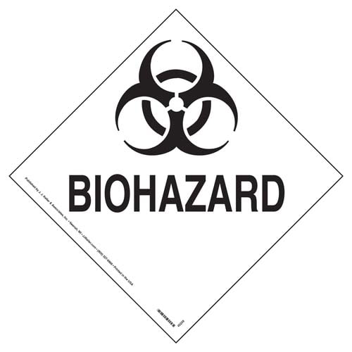 Biohazard Marking (09505)